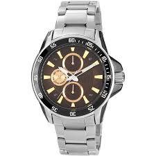 cheap two tone bracelet watch two tone bracelet watch deals get quotations · armitron men s brown dial watch silver tone bracelet