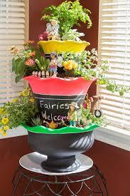 indoor fairy garden. 3-Tier DIY Indoor Fairy Garden S