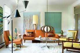 Mid Century Living Rooms Interior