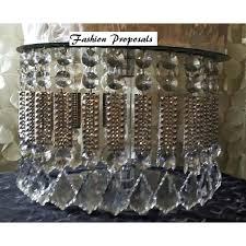 crystal chandelier cupcake stand chandeliersdiy chandelier