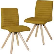 Stühle Set Finebuy Skandinavische 2er Sv45776