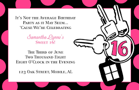 16th birthday party invitations templates free free printable 16th birthday party invitation templates