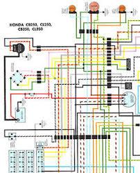 nos honda cb350 cl350 cb250 cl250 color wiring diagram nos honda cb350 cl350 cb250 cl250 color wiring