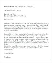 Sample Letter Requesting Vacation Pay After Resignation Request For