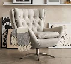 swivel living room chairs.  Swivel Wells Upholstered Swivel Armchair  With Living Room Chairs O