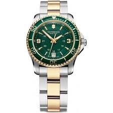 women s watches uk designer ladies discount watch tic watches uk 241612 maverick 34mm ladies green two toned swiss quartz watch