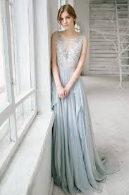 sale silver grey wedding dress lobelia silk bridal