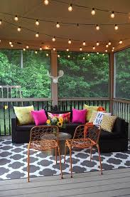 sunroom lighting ideas. Patio/Sunroom Inspiration! Pillows From Home Goods Always Pack A Punch! {Sponsored} Sunroom Lighting Ideas I