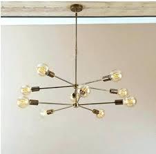 brass modern chandelier mid century modern chandelier mid century modern industrial brass chandelier light arm bulbs inch diam mid antique brass modern