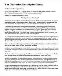 narrative essay example college topics for narrative essays sample narrative essay 8 examples in word pdf