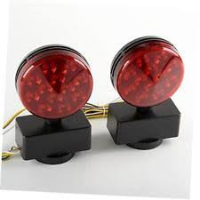 led magnetic tow lights ebay Trailer Wiring Harness Walmart led magnetic trailer light kit towing wiring harness brake camper boat trailer wiring harness walmart
