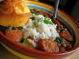 red beans and rice dinner