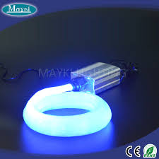 hot s fiber optic solar light with thin fiber optic cable and led light engine