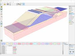 Check Dam Design Software Slope Stability Geotechnical Software Geo5 Fine