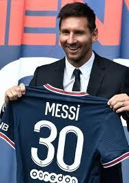 Wechsel zu PSG: Messi völlig verwandelt bei Paris-Vorstellung - Fussball -  Bild.de