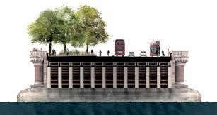 Small Picture Allies and Morrison plans alternative Garden Bridge at Blackfriars