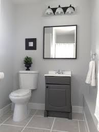 Light Gray Bathroom Wall Cabinet Small Garage Bathroom Painted Vanity Wall Behr