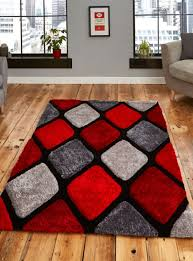 noble house nh 9247 rugs in grey red