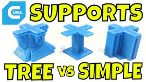 supports images cura tree supports vs standard supports