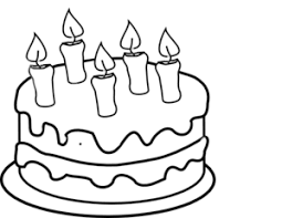 birthday cake clip art black and white.  White Birthday Cake Black And White Clipart 1 Clip Art R