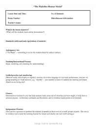 Fresh Madeline Hunter Lesson Plan Physical Education Madeline Hunter ...