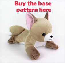 Plush Pattern Classy Free Plushie Sewing Pattern Vulpix Tails Hair For Newborn Fox