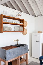 creative home design amusing drip dry 13 kitchens with wall mounted dish racks remodelista within