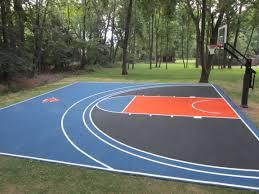 home basketball court design. 30\u0027 X Backyard Basketball Court In A Dream World Home Design E