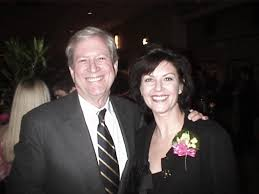 Wendy Crewson alongside former husband Michael Murphy