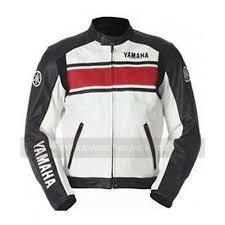 motorcycle leather yamaha racing jacket