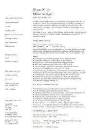 Office Manager Resume Sample Amazing Office Manager CV Office Manager Pinterest Sample Resume