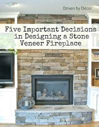 fireplace refacing refacing a fireplace with stone veneer cost to reface building tips design decisions cost