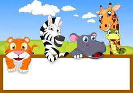 zoo animals together clipart. Wonderful Clipart Zoo Animal With Blank Sign Royalty Free Cliparts Vectors And Stock  Illustration Image 17438259 Animals Together Clipart