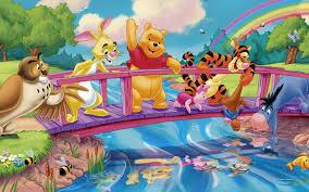 Bridge River Fish Cartoon Winnie The ...