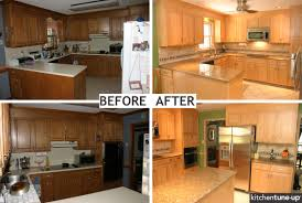 refacing kitchen cabinet pictures before after kitchen
