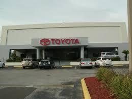 newly painted coutesy toyota building in tampa florida