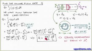 applying the navier stokes equations part 4 lecture 4 9 chemical engineering fluid mechanics you