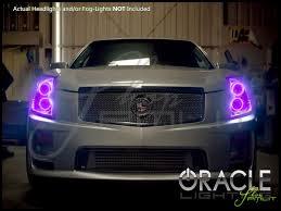 Cadillac Cts Lights Oracle 03 07 Cadillac Cts Cts V Led Colorshift Halo Rings Headlights Bulbs