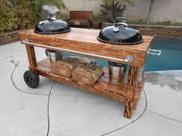 weber grill table plans home design for gorgeous custom weber charcoal bbq custom homemade charcoal weber