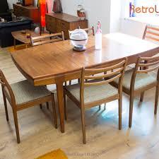 teak dining tables uk. vanson teak dining table and 6 g plan chairs retro vintage eames era tables uk