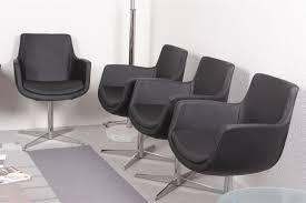 Esstisch Stühle Leder Schwarz