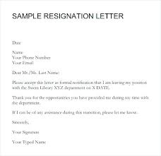 Writing Two Weeks Notice Resignation Letter Two Week Notice Sample Weeks Template Writing 2
