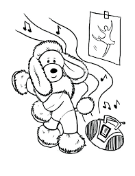 Tap Dancing Colouring Pages Free Printable Dance Coloring Sheets