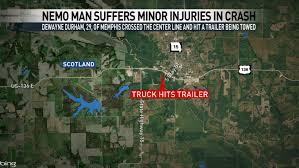 NEMO man suffers minor injuries in crash with semi | KTVO