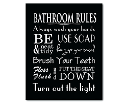excellent black and white artwork for bathroom bathroom wall art word art print bathroom rules with on wall art prints for bathroom with excellent black and white artwork for bathroom bathroom wall art