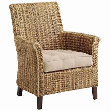 pier one wicker cushions pier 1 imports sonita wicker armchair concept high back patio