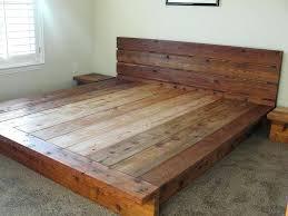 diy platform bed. Diy Platform Bed Cal King Plans Best Interior