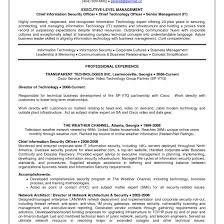 Ciso Resume Information Security Manager Resume Sample Inspirational Ciso 4