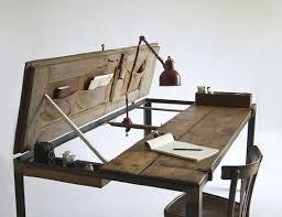 cool wooden folding desk