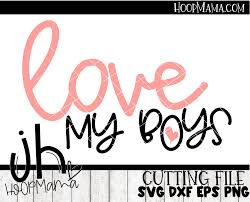 If i could give you one thing in life, i'd give you the ability to see yourself through my eyes, only then would you realize how special you are to me. Download Love My Boys Svg Image